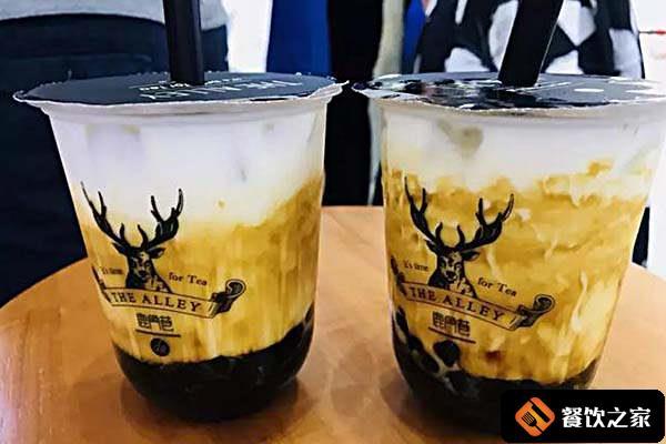 鹿角巷奶茶加盟费多少